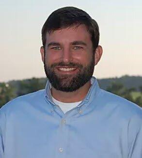 Tyler Bius, PLS for Merritt Paul Land Surveying. Lafayette Land Surveying